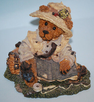 "#2249-06 ""Otis"" The Fisherman 1994 Boyds Bear Collectible Figurine"