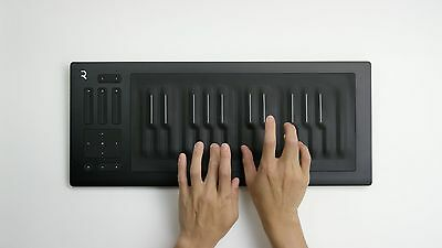 Roli Seaboard RISE-25 - 25-Note Keyboard MIDI Controller with 5D Touch
