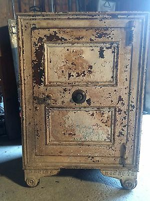 Antique Safe Denio & Roberts Boston Manufactured Damariscotta Maine History