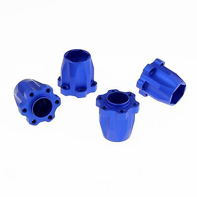 "GDS 12mm Hex Hub Set, 23mm Height Blue for GDS Racing 1.9"" and 2.2"" Alloy Wheels"