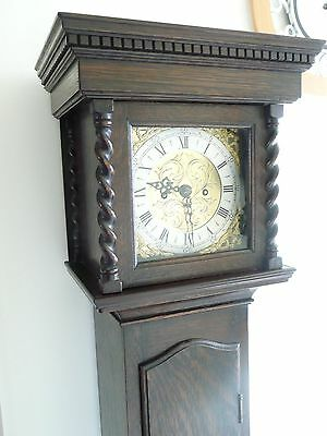 Antique Double Fusee 8 Day Cottage/Grandfather Clock