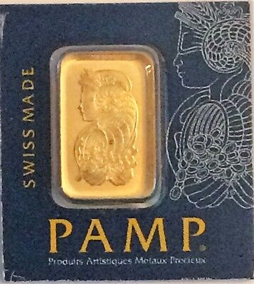 1 Gram Divisible Pamp Suisse Gold Bar