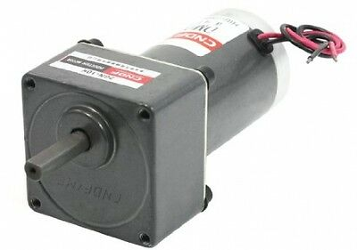 2000RPM DC 24V 8mm Shaft Speed Reducing Geared Box Motor