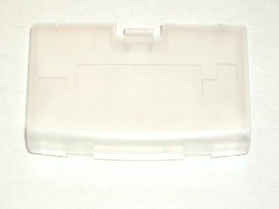 New CLEAR Battery Cover Game Boy Advance System GBA Replacement Door Lot of 10