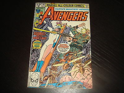 THE AVENGERS #195 1st Taskmaster Marvel Comic 1980  FN+