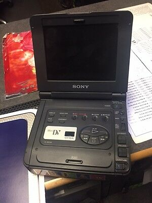 SONY Video Walkman GVD900 MiniDV Mini DV Player Recorder VCR Deck