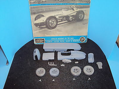 1/25 1962 indy 500 winner R.Ward resin and metal converstion kit for AMT watson