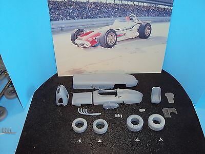 1/25 1964 indy 500 winner AJ FOYT resin and metal converstion kit for AMT watson