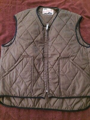 Vintage Lee Quilted Vest MADE IN THE USA!