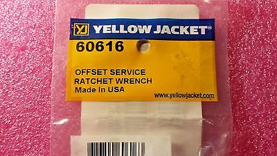 """Yellow Jacket 60616, Offset Service Ratchet Wrench, 3/16"""", 1/4"""", 5/16"""", 3/8"""" Sq"""