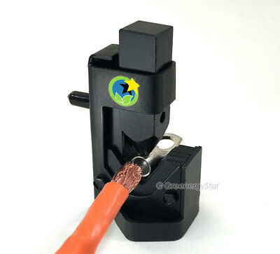 Cable Hammer Terminal Lug Crimper Battery Welding Wire Connector 8-4/0 AWG