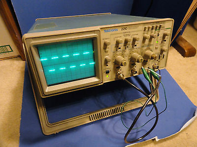 Tektronix 2210 Digital Storage Oscilloscope with 2 channels