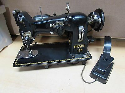 INDUSTRIAL STRENGTH PFAFF 130 sewing machine HEAVY DUTY for upholstery leather