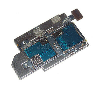 OEM Micro SD+SIM Card Tray Slot Holder Flex Cable For Samsung Galaxy S3 i747 US