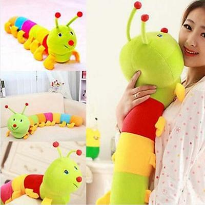 Colored Inchworm Soft Caterpillar Toy Cute Developmental Child Baby Doll 50CM CO