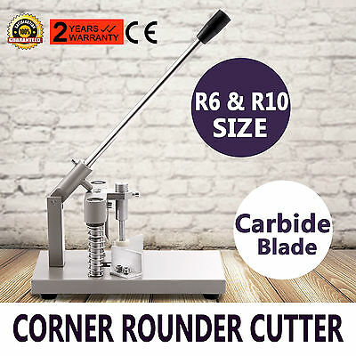 Corner Rounder Cutter Large Punch All Metal Commercial GREAT UPDATED All Steel