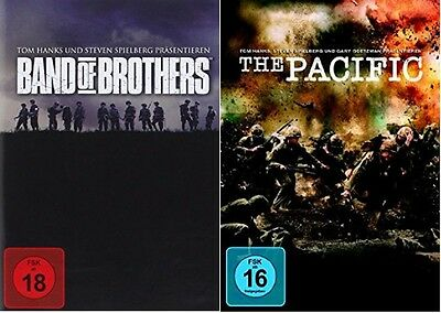 Band of Brothers + The Pacific DVD Set - NEU OVP