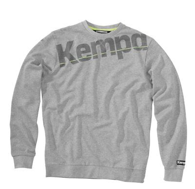 Kempa Kids Core Sweatshirt Jumper Top Sports Training Casual Crew Neck Junior Gr