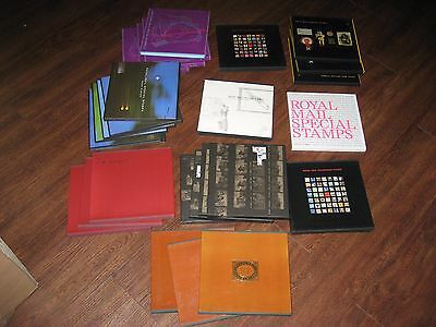 Collection Of 28 Royal Mail Yearbooks 1987-2007  No Stamps