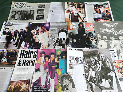 New York Dolls  - Rock  - Clippings /cutting Pack