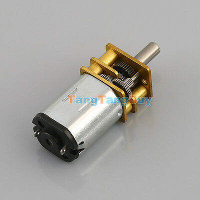 DC6V N20 Small Micro Geared Box Electric Motor 40RPM 100RPM 600RPM High Quality