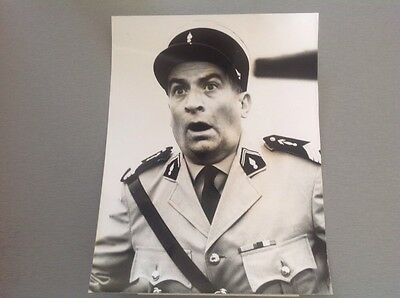 "LOUIS DE FUNES  - "" LE GENDARME A NEW YORK ""  - PHOTO PRESSE 15x20"
