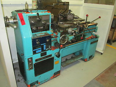 "Yuasa Takisawa LX-1432 Tool Room Engine Lathe, 14"" x 32"", 2000RPM, Good Cond."