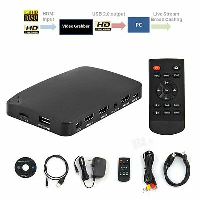 YK 940 4K HDMI 1080P UHD PC Capture Box Recording DvD TV Video Game Capture Card