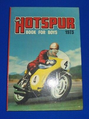 The Hotspur Book For Boys 1973