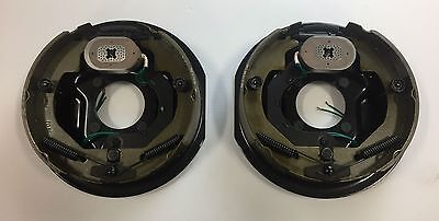 "10"" x 2-1/4"" Electric Trailer Brake Assembly -  (1) Right Hand and (1) Left Hand"