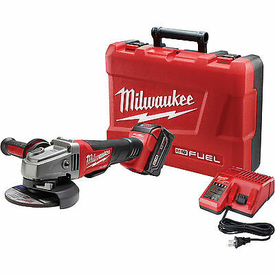 Milwaukee 2780-21 M18 4 1/2in./5in. Grinder Paddle Switch w/1 XC 4.0 Battery