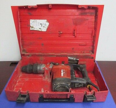 Hilti Te75 Te 75 Corded Electric Rotary Hammer Drill With Bits