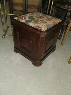 Gorgeous Victorian Antique Commode Stool