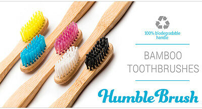 Humble Brush Bamboo Toothbrushes - Child or Adult