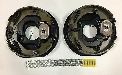 "10"" x 2-1/4"" Electric Trailer Brake Assembly -  (1) RH & (1) LH - Incl. Hardware"