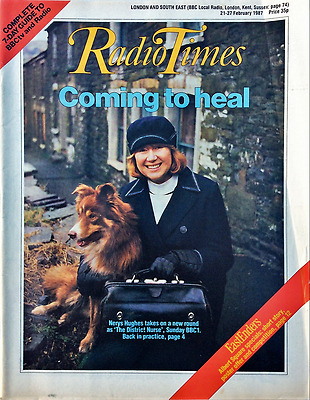 RADIO TIMES 21-27 February 1987 EastEnders, The District Nurse Nerys Hughes