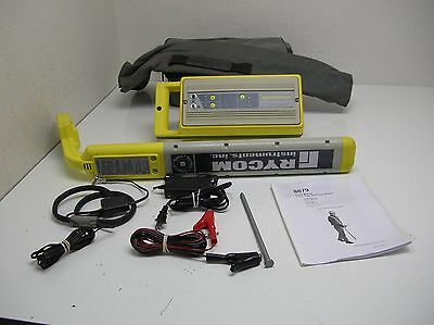 Rycom 8879/8878 Rechargable  Radiodetection Pipe Cable Locator Vivax Underground
