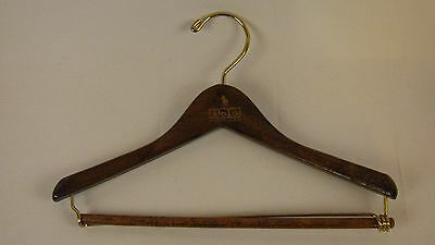 Vintage Ralph Lauren Polo Wood Clothes Hanger