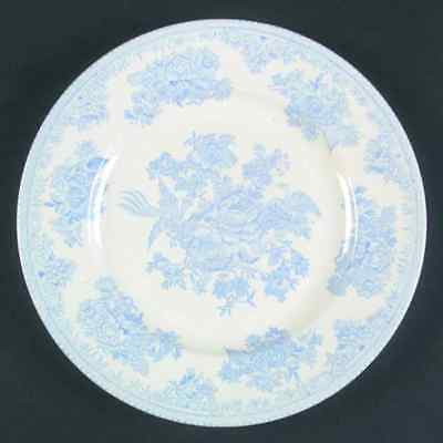 Burgess & Leigh ASIATIC PHEASANTS BLUE Luncheon Plate 42878