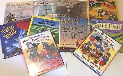 Mixed Lot  of 10 Children's Hardcover Story Books  FREE SHIPPING