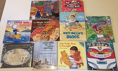 Children's Story Books Hardcover Mixed Lot Of 10