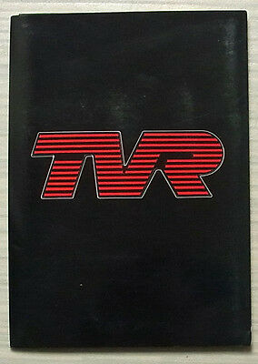 TVR LONDON MOTORFAIR Show Press Media Pack Photos 21 Oct 1987 350i  390 SE CVT