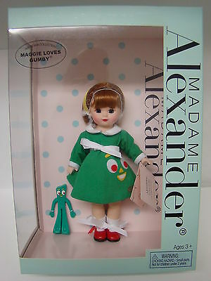 "Madame Alexander Doll #48945 - Maggie Loves Gumby - 8"" - Retired - NIB"