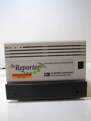 Turner Biosystems Designs Microplate Luminometer The Reporter 9600-001 Complete