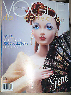 Vogue Home Pattern Catalog Book Doll Collection Winter 2000 2001