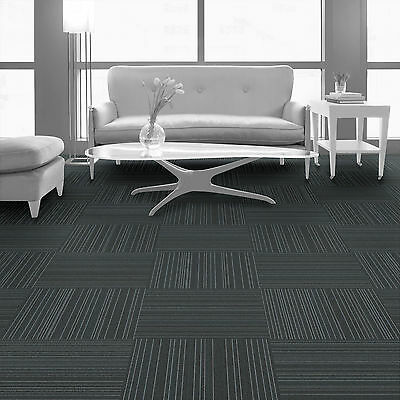 Interface Heavy Duty Commercial Carpet Tile Sale Cheap Grey Slate 1