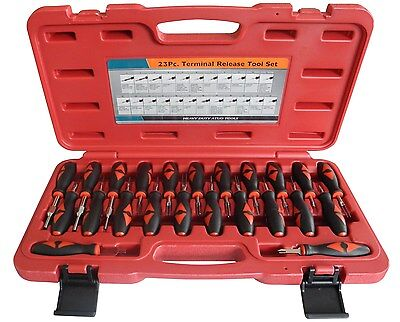 23 Piece Auto Terminal Release Tool Kit VW Audi BMW European Car Cable Removal
