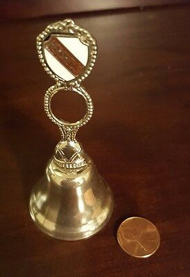 Small Brass Hershey, Hershey's Pa Bell Souvenier Chocolate Kiss Collectible