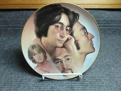 Vintage 1985 John Lennon Collectors Plate Numbered 998/10000