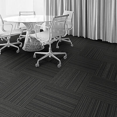 Interface Heavy Duty Commercial Carpet Tile Sale Cheap Dark Grey Onyx 1
